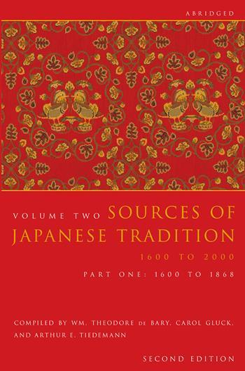 Sources of Japanese Tradition, Abridged