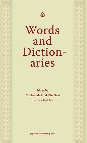 Words and Dictionaries