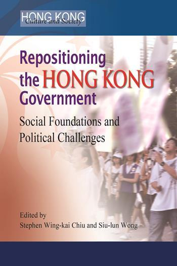 Repositioning the Hong Kong Government